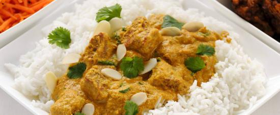 Food at Taste of India an Indian Takeaway in Islington